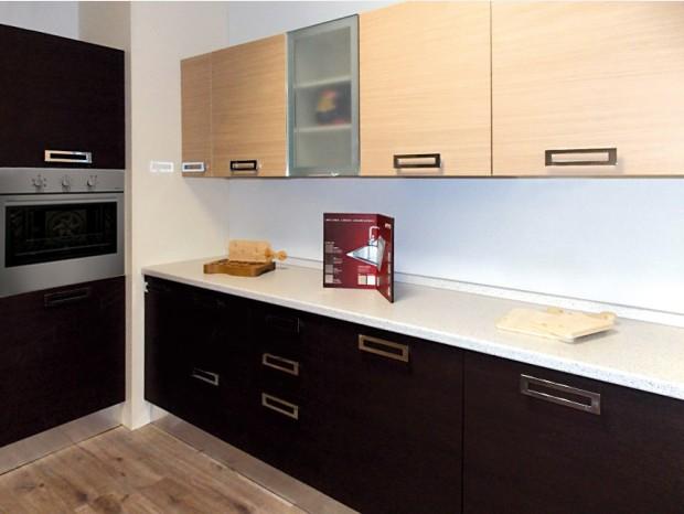 Cucina lineare Tre O KITE_ROVERE
