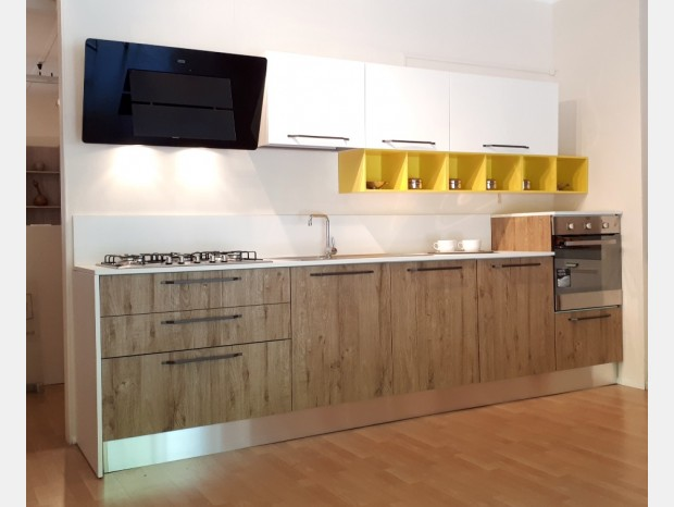 Cucina lineare Bindi Cucine City