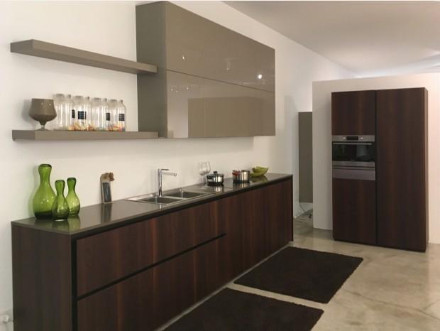 Cucina lineare Zampieri Cucine Axis 012 / Glass