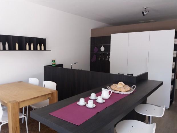 Cucina con penisola CopatLife modello 2.1