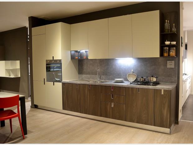 Cucina lineare Euromobil Laclip