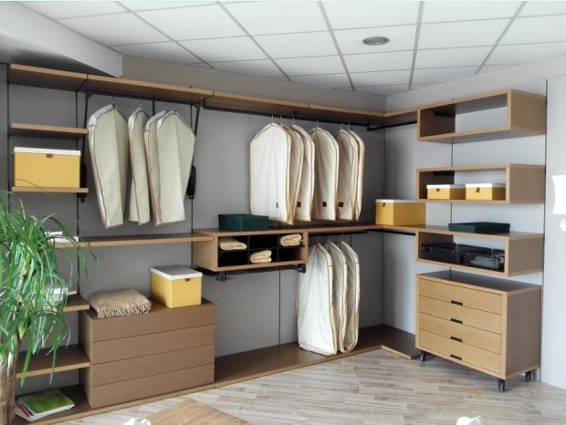 Cabina armadio Line Gianser Walk In Closet