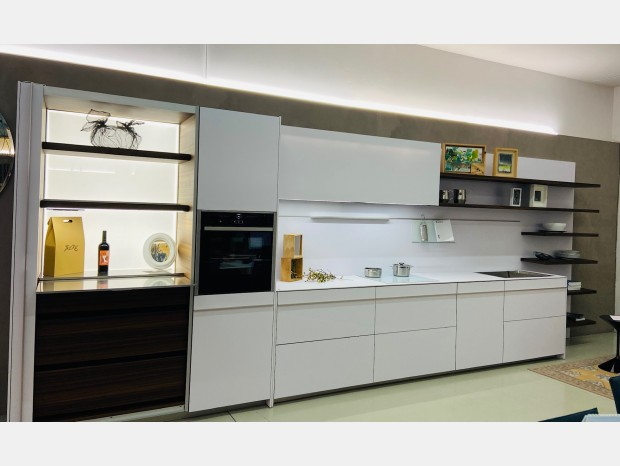 Cucina lineare Dada Vela 14