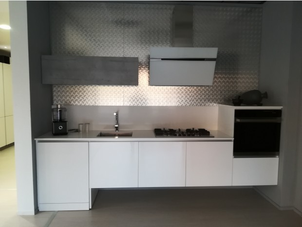 Cucina lineare Produzione Artigianale Sangalli Lab