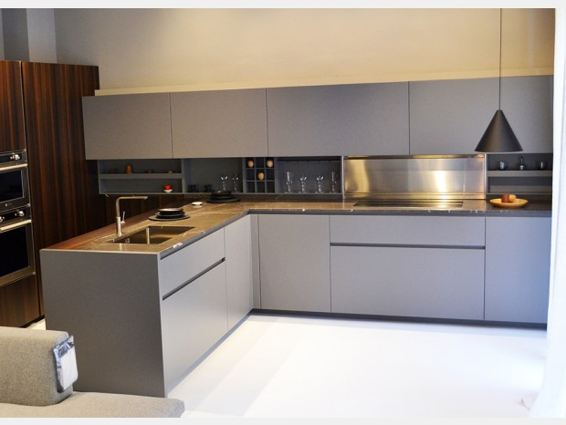 Cucina con penisola Rossana HD23