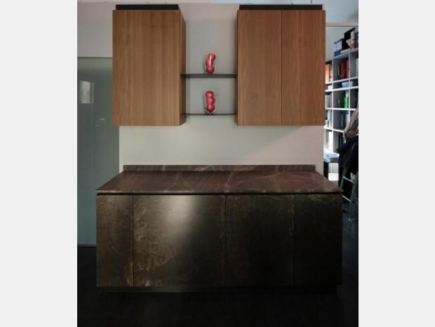 Cucina lineare Minacciolo NATURAL SKIN