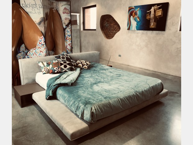 Letto matrimoniale Art Nova Island bed