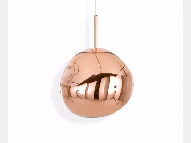 Lampada sospesa Tom Dixon Melt Mini Copper