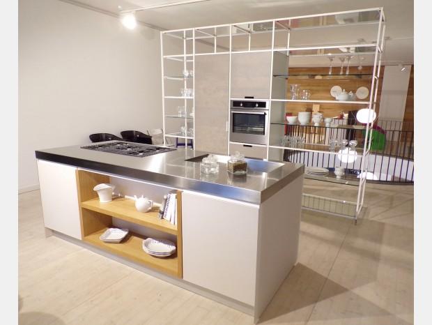 Cucina con Isola Valcucine Meccanica - Artematica