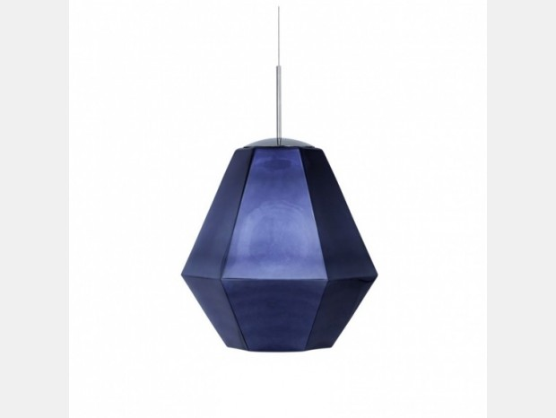 Lampada sospesa Tom Dixon Cut Tall Smoke