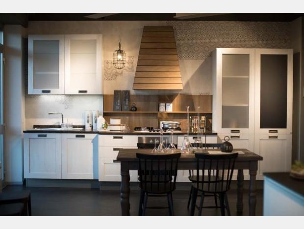 Cucina lineare Stosa Cucine City
