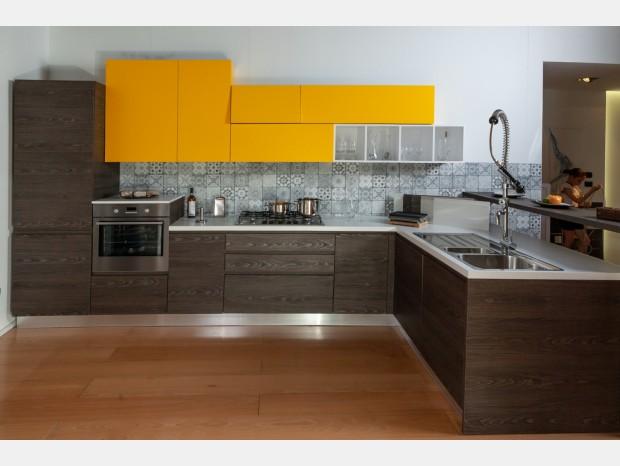 Cucina angolare Ar-Due Arcobaleno