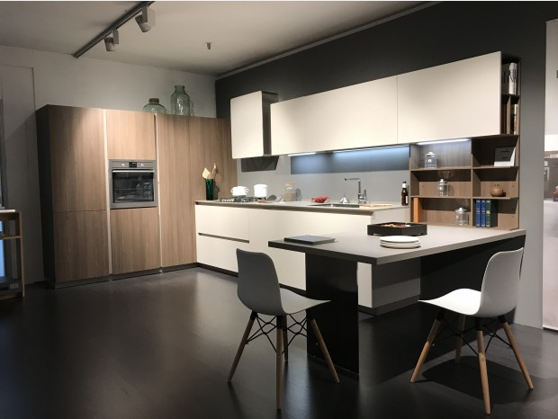 Cucina angolare Euromobil FiloLain 33