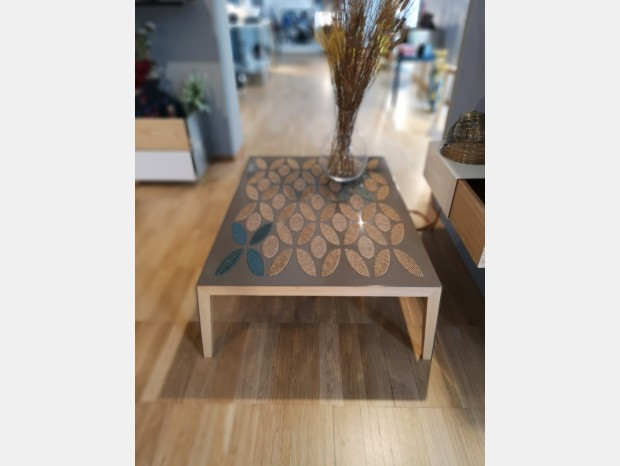 Tavolino Santomaro Design Coffee Table Skin Woollane