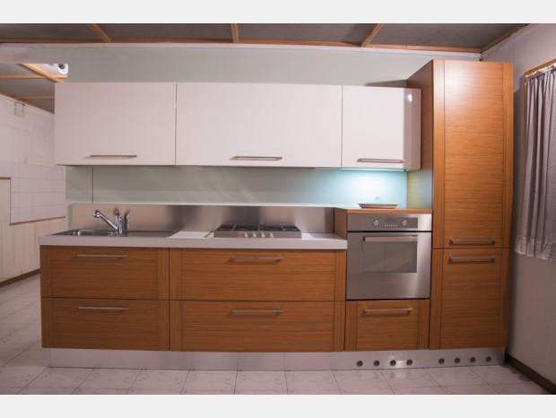 Cucina lineare Astra Ambra