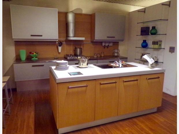 Cucina con Isola Toncelli Systema TL