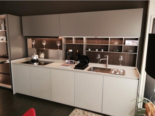 Cucina lineare Ernestomeda Obliqua