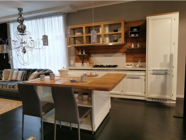 Cucina con Isola L'Ottocento LIVING DESIGN