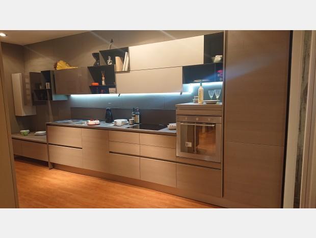 Cucina lineare Stosa Cucine Alevè