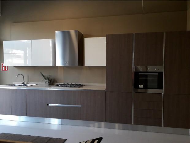 Cucina lineare Miton cucine mt122+mt400