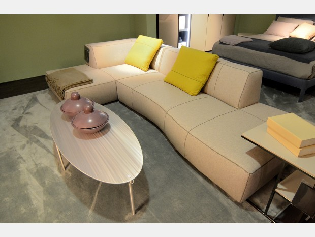 Chaise-longue B&B Italia Bend-Sofa