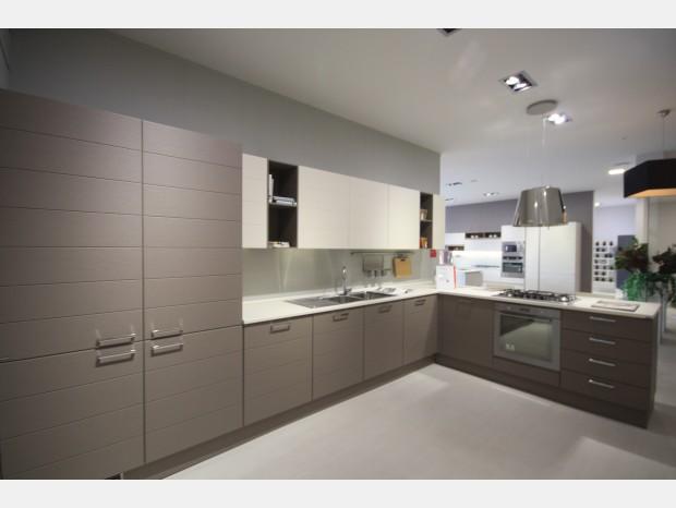 Cucina con penisola Scavolini Open + living