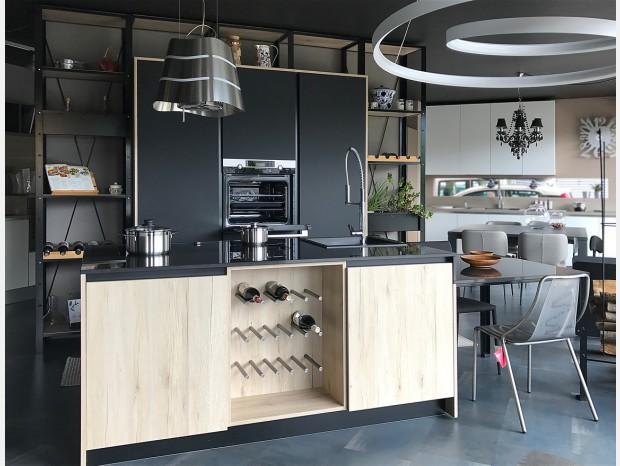 Cucina con Isola Plebani Cucine Matrix