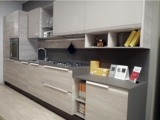 Cucina lineare Febal Chantal