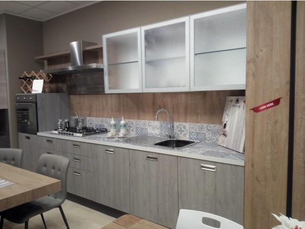 Cucina lineare Febal Ice Industrial