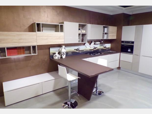 Cucina con penisola Forma 2000 Nice