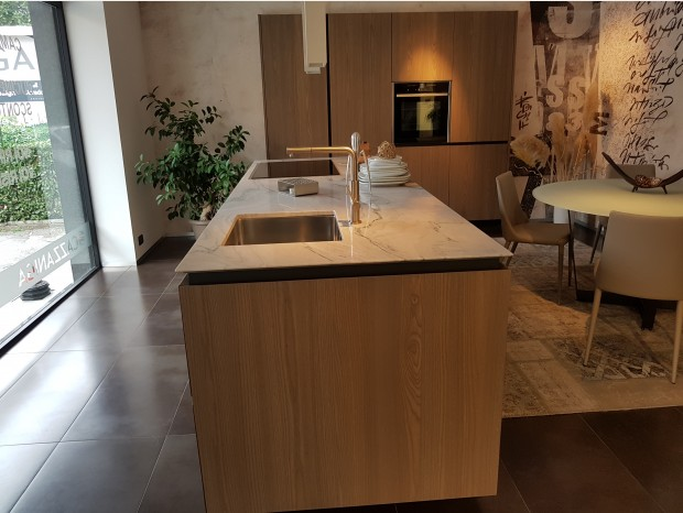 Cucina con Isola Valdesign Forty5