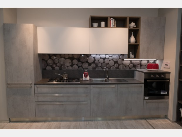 Cucina lineare Veneta Cucine Ethica