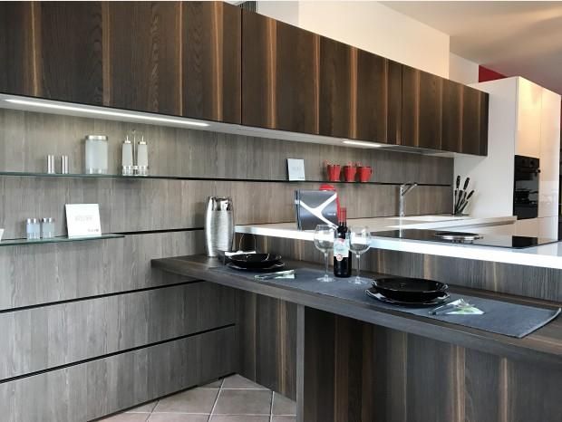 Cucina con penisola Aster Cucine Atelier