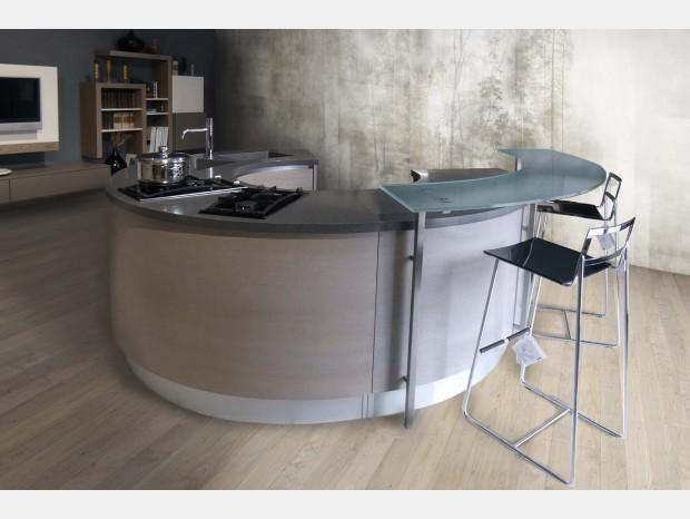 Cucina con Isola Pedini Integra circle