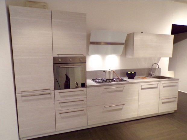 Cucina lineare BVA Enir