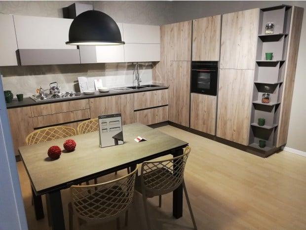 Cucina angolare Lube Immagina Lux