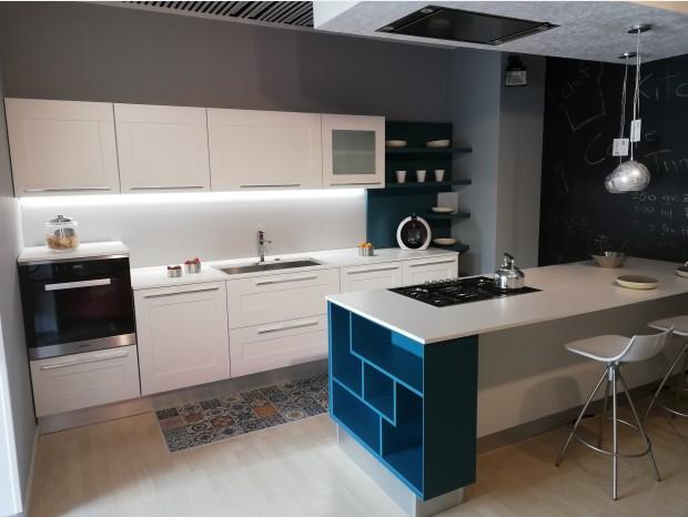 Cucina con Isola Lube Gallery telaio