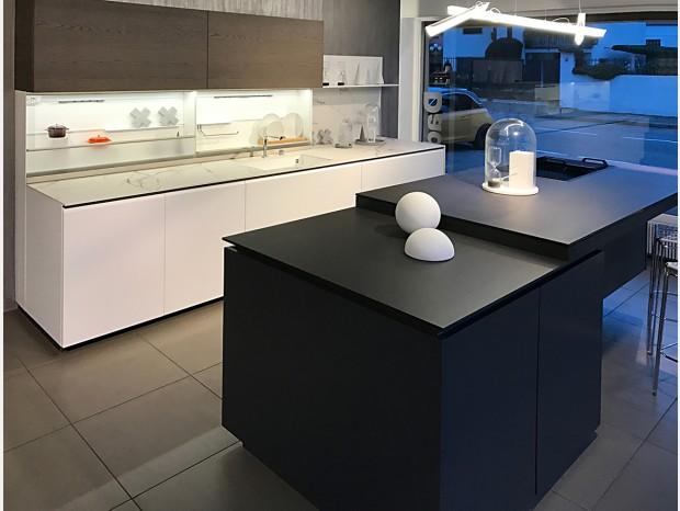 Cucina con Isola Dada Trim + Banco