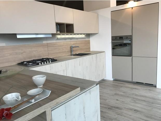 Cucina con penisola Aster Cucine Atelier 45°