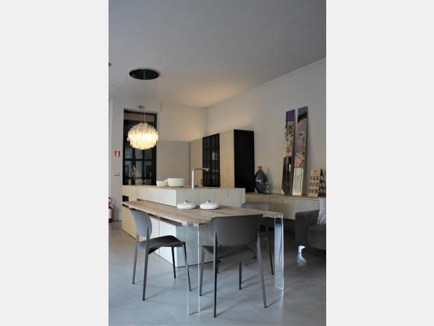 Cucina con Isola Aster Cucine Atelier