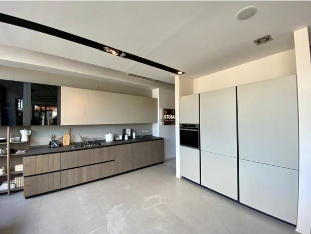 Cucina lineare Stosa Cucine natural