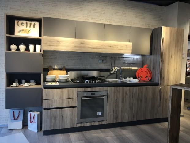 "Cucina lineare Veneta Cucine Start- Time ""J"""