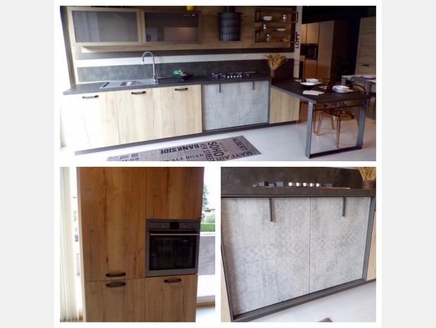 Cucina con penisola Snaidero Loft