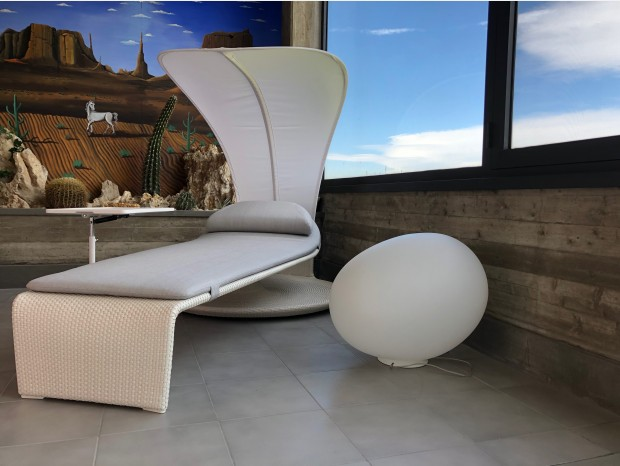 Lettino Outdoor Dedon Summer Cloud
