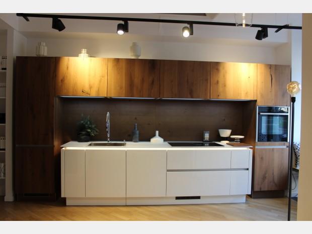 Cucina lineare Nolte Küchen Nova Lack