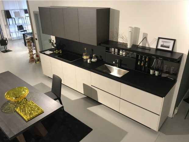 Cucina lineare Poliform ALEA - MY PLANET