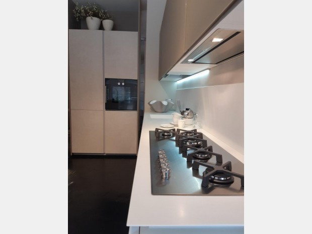 Cucina angolare Zampieri Cucine GLASSTONE - Y