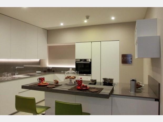 Cucina con penisola Zampieri Cucine Axis 012