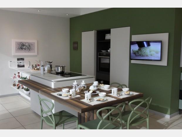 Cucina con penisola Zampieri Cucine Line K e Y