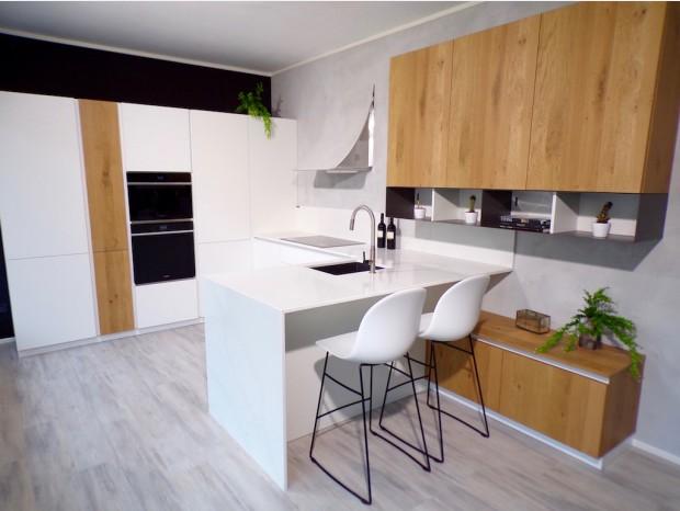 Cucina con penisola Arrex Loft